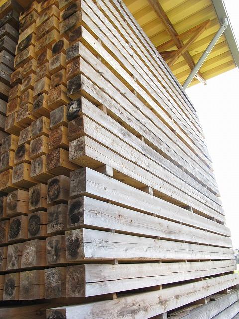 天然乾燥材 構造材