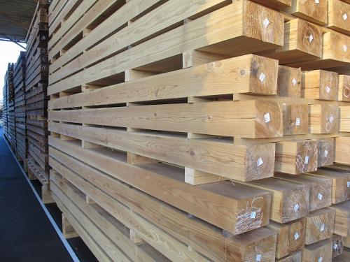 天然乾燥材 構造材2