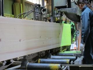日光産杉階段材・カウンター材 製材